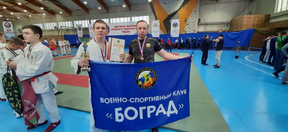 Каур Александр Чемпион России по Армейскому рукопашному бою 2021 года